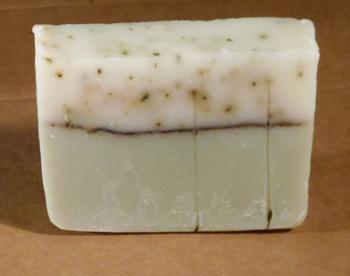 Peppermint & Pine handmade soap